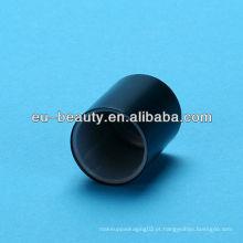 Capa de perfume preta fosca para garrafa de vidro