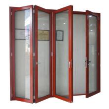 Luxury Double glazing aluminium bifold door