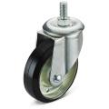 The Black Rubber Screw Caster Wheel
