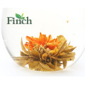 EU Standard Chinois Premium Mango Flavored Blooming Tea Orient Meilleur Dan Gui Piao Xiang Exportation vers la Pologne