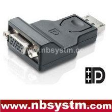 Convertidor DP a VGA wIC (macho DP a VGA hembra)