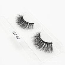 Fashion Style New Product Wholesale 3D 5D 25mm 6D Faux Mink Strip Eyelashes