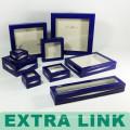 Акриловая коробка подарка бумаги рециркулированный дисплей,коробка кольца,коробка ювелирных изделий ожерелье