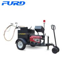 Máquina de sellado de grietas para carreteras asfaltadas tipo 100L de remolque