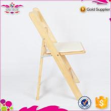 Nouvelle chaise pliante en bois antique de degsin Qingdao Sionfur