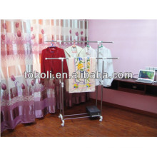 The Parellel Hanging Clothing Rrying Rack Stand laundry room clothes drying rack
