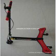 Scooter de la rueda de la rueda de la PU de 125m m, vespa de 3 ruedas, ala del poder (ET-PW001)