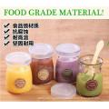 Small Glass Preserve Canning Jar Jam Jar Honey Jar with Lid