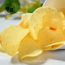 Low price dried vegetable snack potato chips no food additives