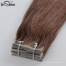Extensions de cheveux sans couture de trame de peau de Remy de cuticule de bande superbe