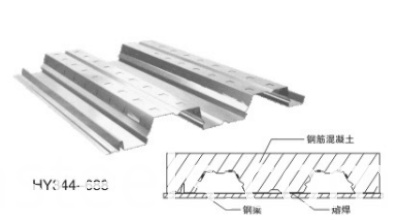 686type floor decking drawing