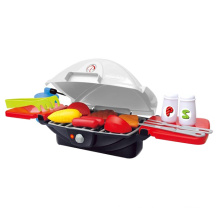 Deluxe Barbeque Grill Pretend Play Toy Cooking Kitchen Play Set (10250387)