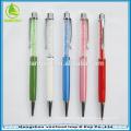 Best sale luxury metal pen with crystal as weddings souvenirs