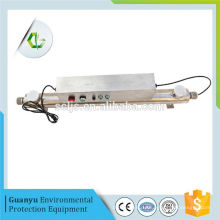 uv self cleaning senor sewage water sterilizer for hospital aplication