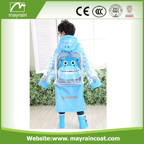 Long Raincoat Children Rainsuit