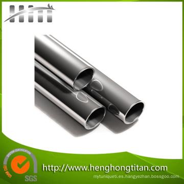 Tubo sin soldadura de titanio para intercambiador de calor