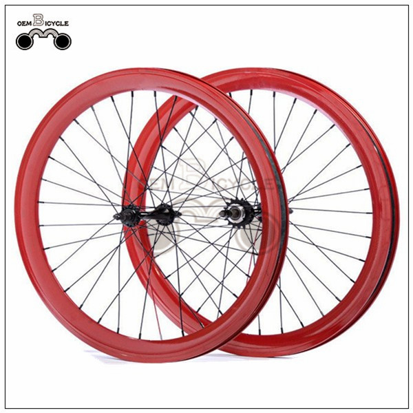700C 40mm fix double-walled aluminum wheelset10