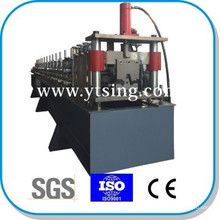Passed CE and ISO YTSING-YD-6623 PLC Control Steel Top Hat Keel Roll Forming Machine