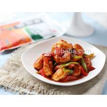 Sauté de tomates assaisonnements chauds pour plats