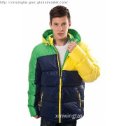 Hot sale men\'s down jacket with hood