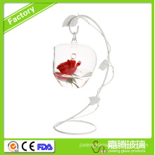 Hanging Glass Apple Shape Orb for all green plants