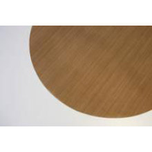 PTFE baking sheet 28 cm round brown