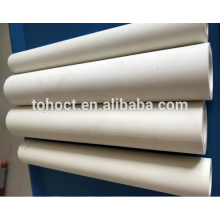 Stocks available 60%--75% alumina ceramic tube pipe roller at High quality furnace refractory