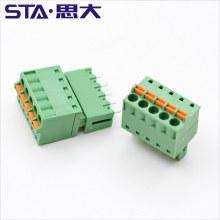 3.5 3.81mm FK-MCP 1,5/6-ST-3.81 Plug Free Spring 6 8 10 12poles terminal block