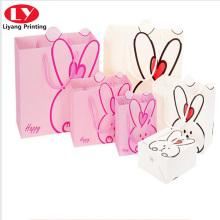 милый кролик подарочная сумка для детей или девочек