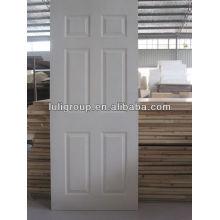 Imprimación blanca estampado piel de la puerta