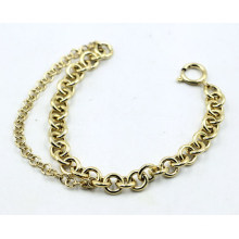 18k Gold Plated Stainless Steel Chain Bracelet for Woman