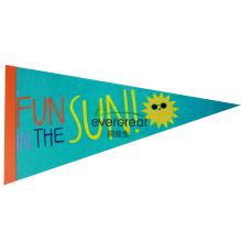 Fun in the sun felt bunting