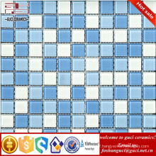 High quality wall decorative glass mosaic tile crystal glass mosaic tile