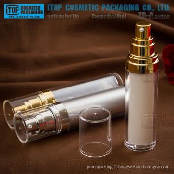 Flacon airless acrylique série ZB-A-15 et 30ml-bouteille classique
