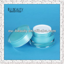 Color Coating Cosmetic Acrylic Jar 50g