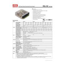Wxe-50ned-a Fuente de alimentación de conmutación de salida dual