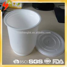 Cofre plástico descartável da microonda do recipiente de alimento 1000ml