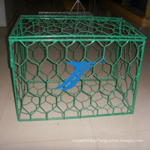 Gabion Mesh Box with PVC Coated, Embankment, Wire Box, Mesh Box, River Barries