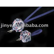 Jean Denim Lanyard mit Jeansblüte