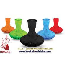 Bouteille de narguilé moyen coloré de conception unique