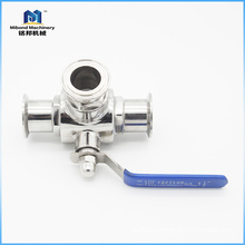 2018 Wholesale Tri-Clamp Standard Bore Ball Valve