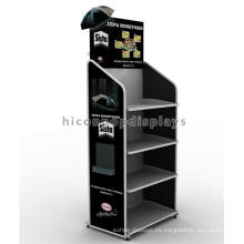 Free Design China Display Stand Fabricante Metal Point Of Purchase Paraguas Display Stand Para Tiendas