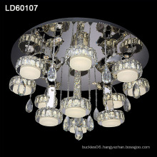 contemporary decorative crystal rings lamp chandelier