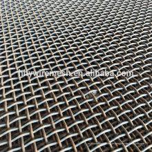 65Mn Stahldrahtgewebe screenen Felsenzerkleinerungssiebmasche vibrierenden Maschensieb