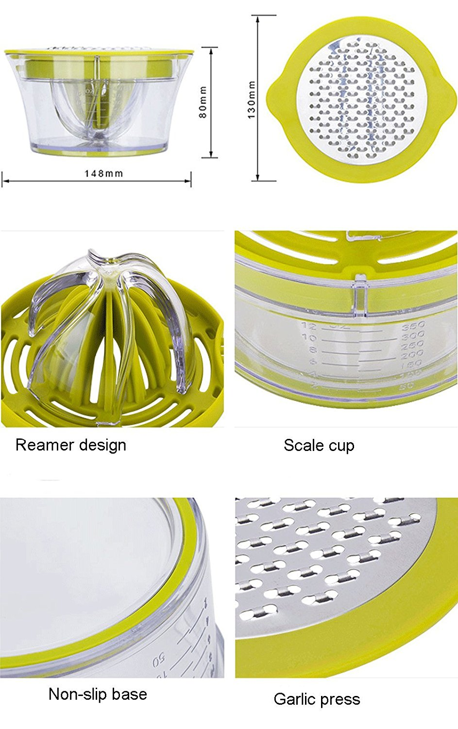 Multifunction Lemon Juicer