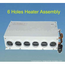 Bus or truck heater assembly
