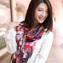 Silk Digital Printed Shawl (12-BR110303-33)