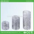 12 * 25mm architektonischen Edelstahl 201 dekorative Spule Mesh