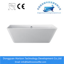 Hot New Products for Stand Alone Irregular Bathtub Wide Flange Acrylic Free standing Bath tubs export to Russian Federation Manufacturer