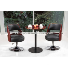 Новый стиль Ретро высокой спинкой деревянный обеденный стул с очень удобным сиденьем